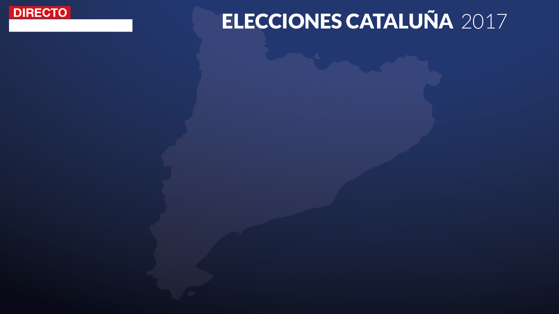 Streaming grafismo tv elecciones Cataluña 3
