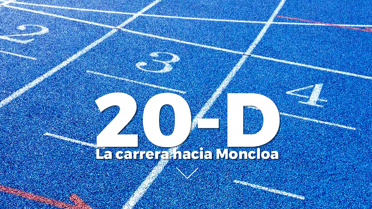 Infografía 20D carrera moncloa