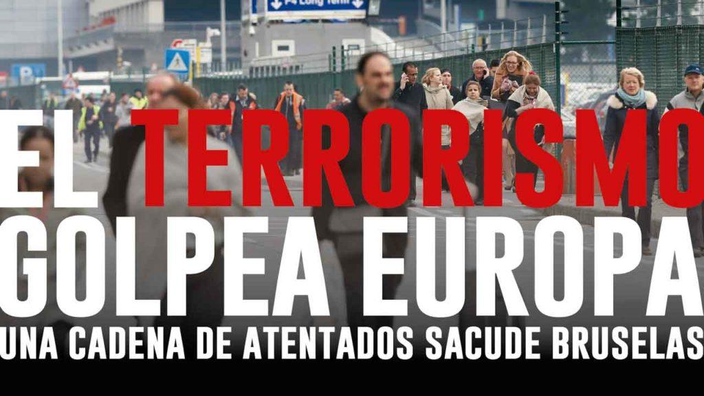 Infografía atentado Bruselas