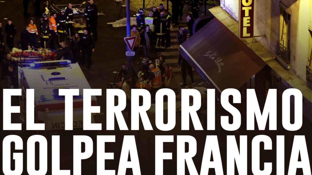 Infografía atentado París