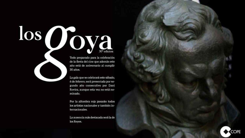 Infografía Los Goya