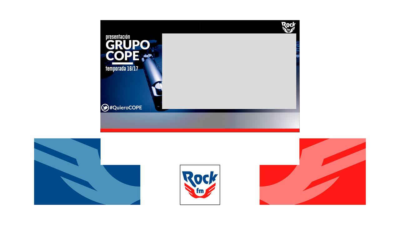 Pantalla RockFM diseño