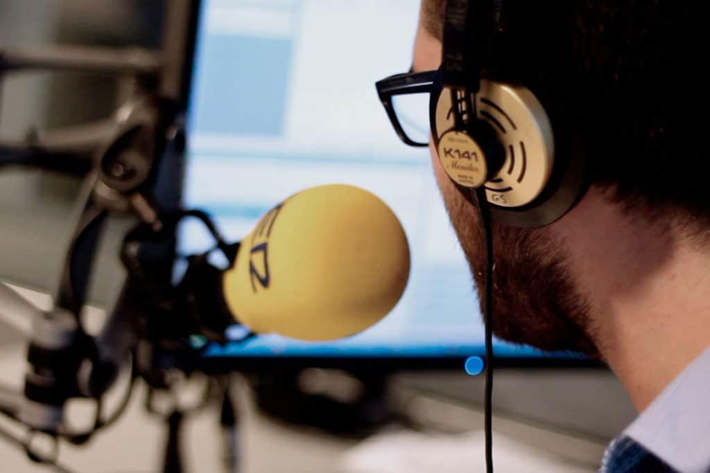 Grabación de El Retrovisor desde Cadena SER Madrid