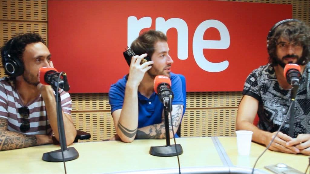 Izal en Equilibristas - Radio3 presentado por Andrea Briongos, Gonzalo Dacuña y Cele Díaz