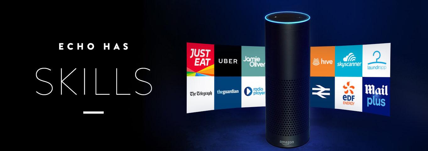 Varias Skills de Amazon Echo disponibles para descargar e instalar en el Smart Speakers o altavoz inteligente