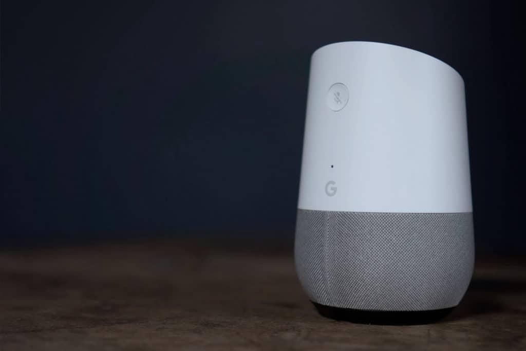 Google Home, uno de los Smart Speaker o altavoces inteligentes en los que se puede escuchar el directo y el último boletín de noticias de COPE