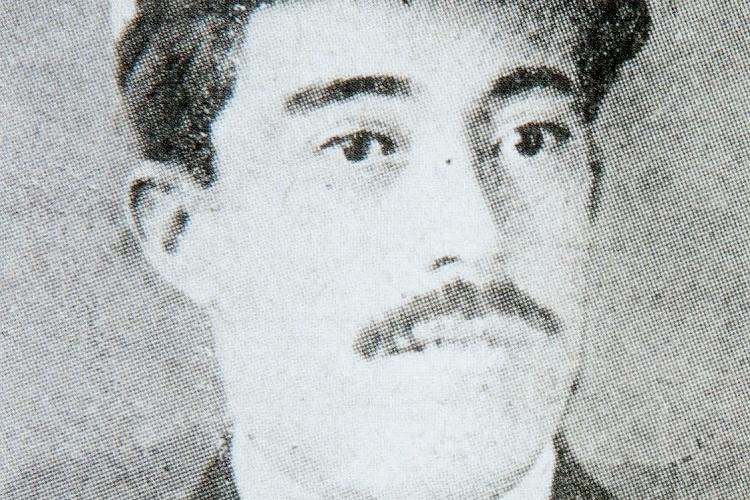 D. Pedro Garcia. 1º Oficial del VALBANERA. Del libro El Misterio del VALBANERA.