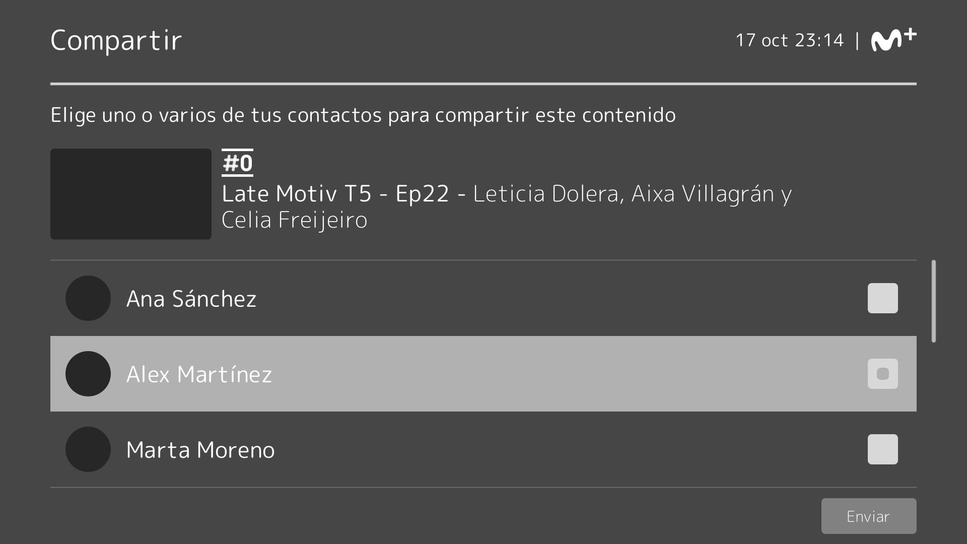Wireframe4. Movistar+: investigación y diseño UX