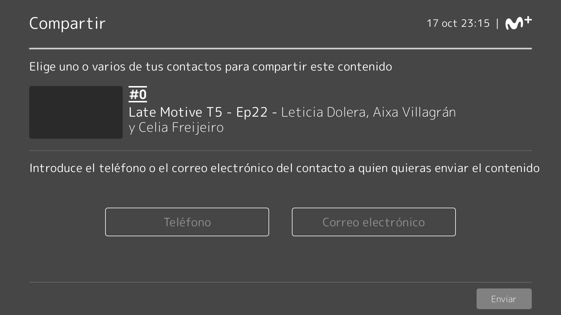 Wireframe5. Movistar+: investigación y diseño UX
