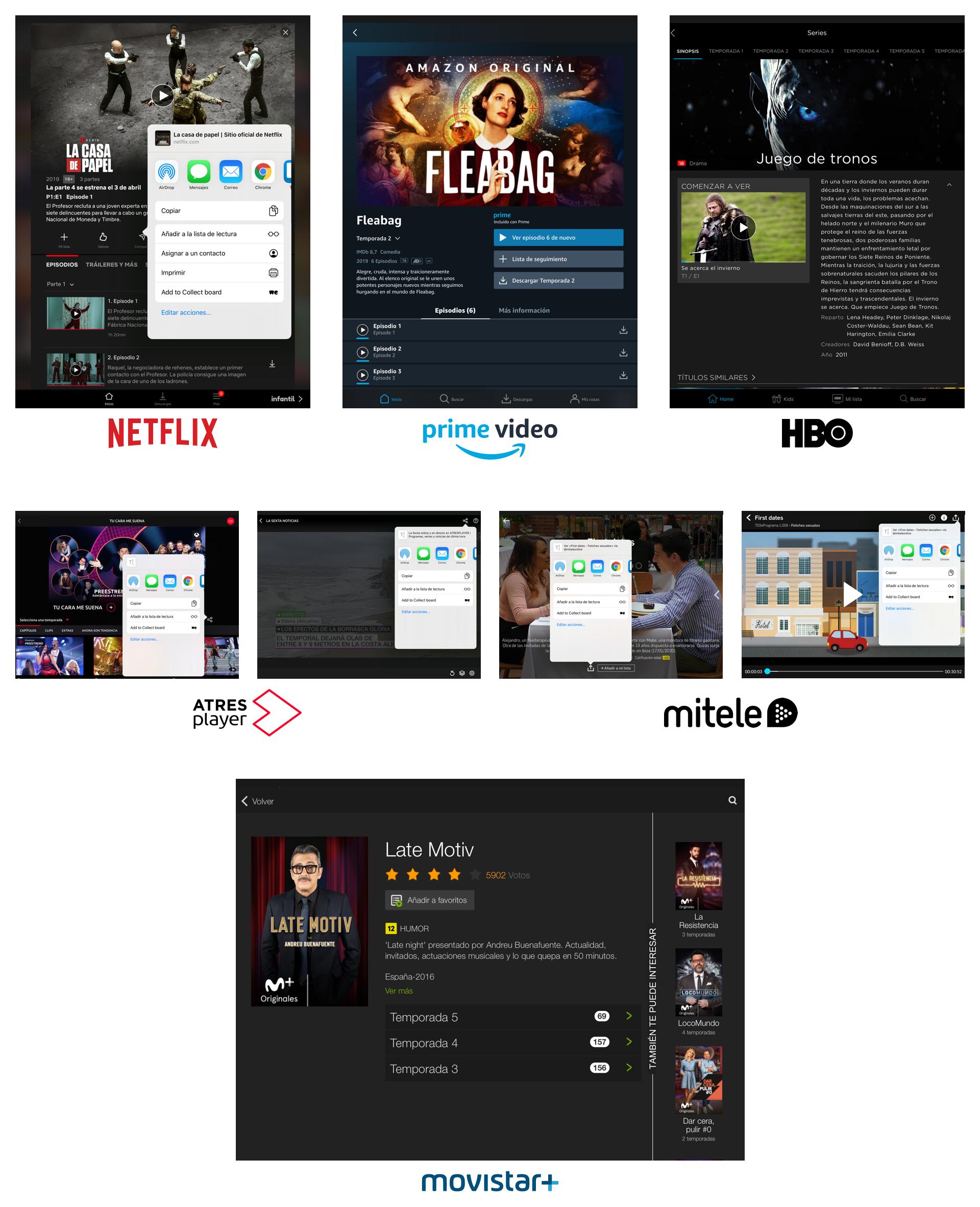 Otras plataformas. Movistar+: investigación y diseño UX